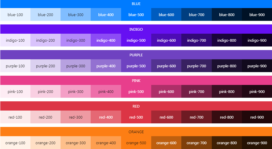 20 CSS Color Palettes for Web Developers